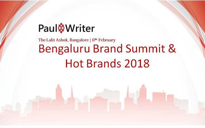 Bengaluru Brand Summit & Hot Brands 2018