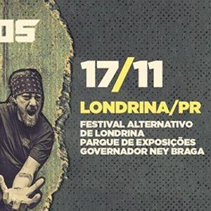 1711 - Raimundos em LondrinaPR - Festival Alternativo