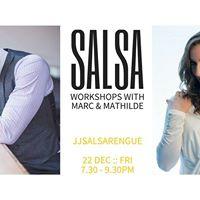 Salsa Workshops with Marc Brewer &amp Mathilde dos Santos