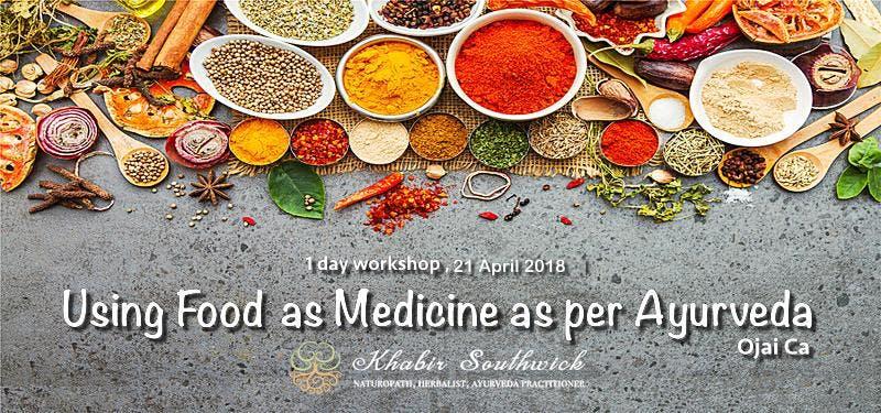 1-day Workshop Food as Medicine as per Ayurveda.