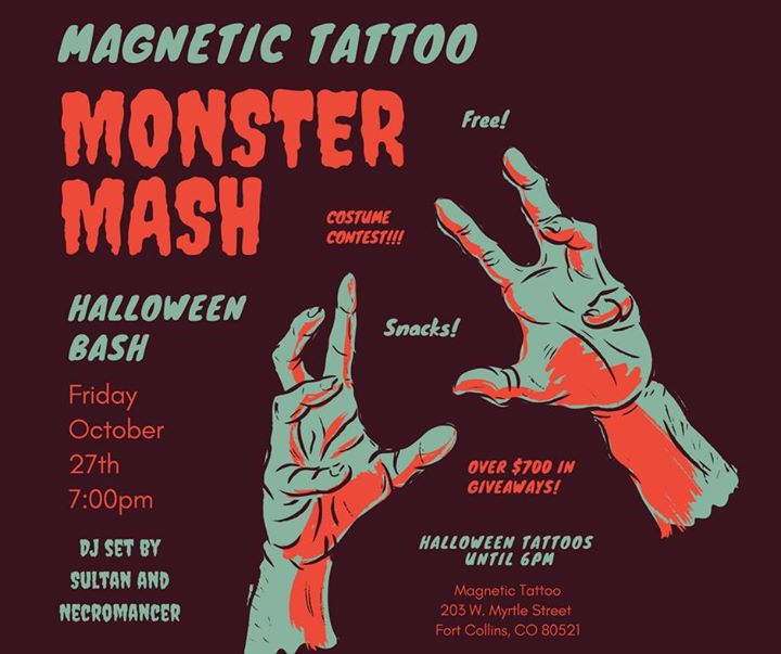magnetics monster mash halloween bash at magnetic fort collins