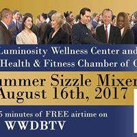 LV Health Chamber - Luminosity Wellness Ctr- Summer Sizzle Mixer