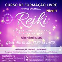Curso de Reiki - Nvel 1 (UberlndiaMG)