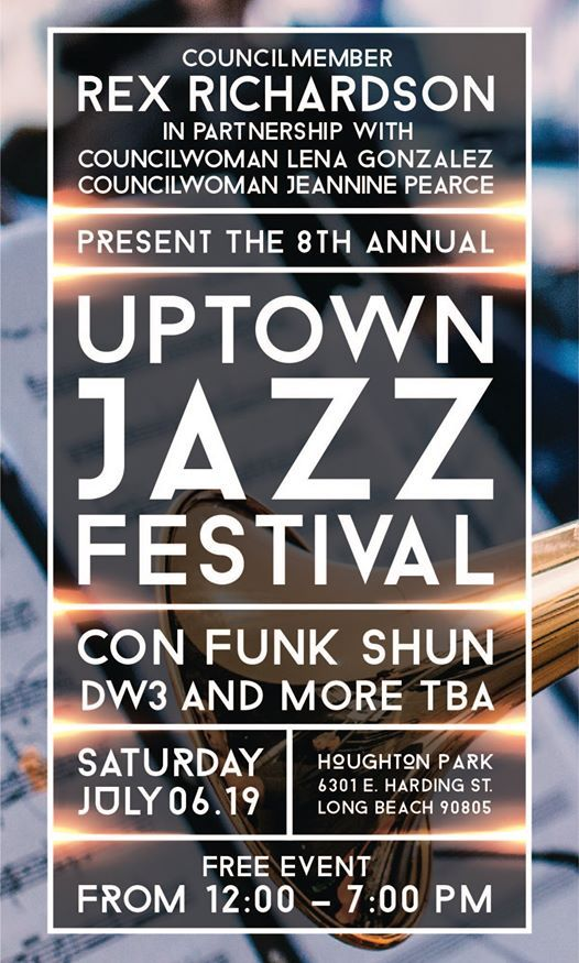 8th Annual Uptown Jazz Festival Feat. Con Funk Shun and DW3