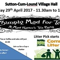 Sutton Village Hall - VintageTea Party