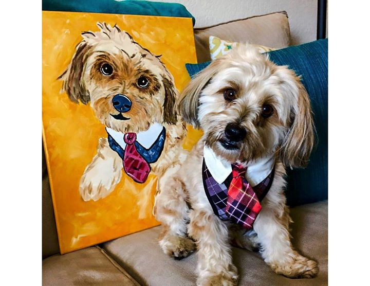 Paint Your Pet At Painting With A Twist Panama City