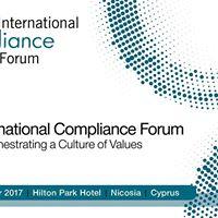 3rd International Compliance Forum