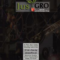I Am Root Co. Presents JusGroAZ Open-Mic at Moroccan Paradise