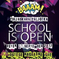 School is open  01. september 2017.  Spartacus