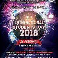 International Students Day (ISD) 2018