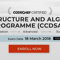 Certification Exam - March 2018