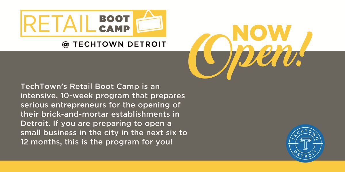 Retail Boot Camp Spring 2019 Info Session 7