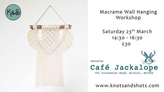 Macrame Wallhanging Workshop