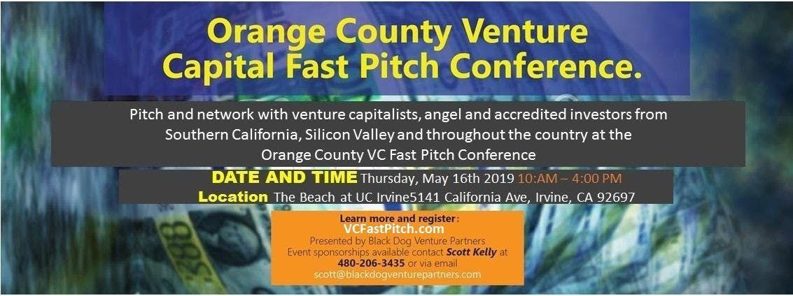 Orange County Venture Capital Fast Pitch