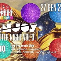 Sabato 27 Gennaio Enjoy Glitter Night Vol.III - Lgbt Night - Faq Grosseto
