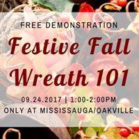 Festive Fall Wreath 101