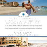 Thanksgiving Weekend Mexico Getaway