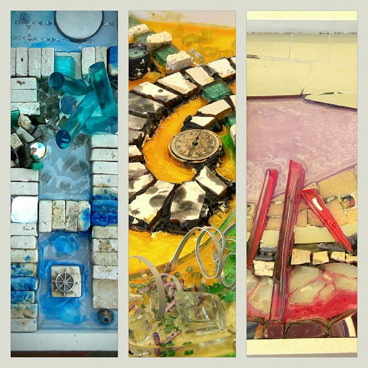 La Resina En La Obra En Mosaico