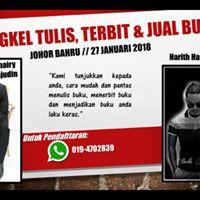 BENGKEL TULIS TERBIT &amp JUAL BUKU SENDIRI