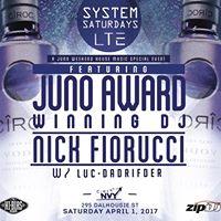 JUNO Weekend w Nick Fiorucci