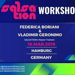 Salsation Workshop With Federica Vladimir In Hamburg Germany At