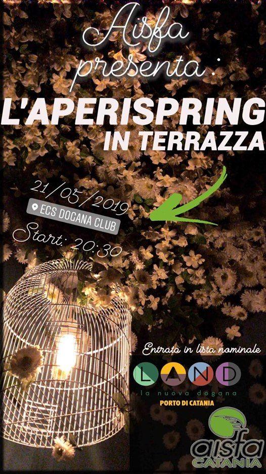 Aperispring In Terrazza At Ecs Dogana Club Catania