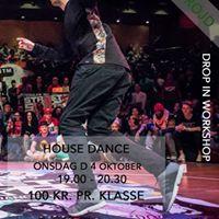 Drop in House workshop m. Viktor Froijd