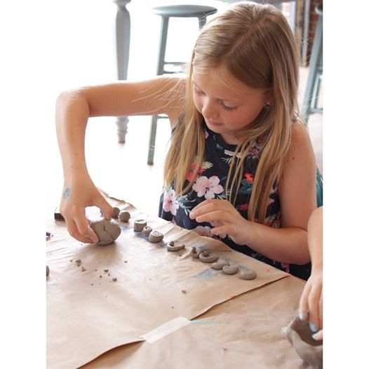 Spring Break Art Camp  Ceramic Planter
