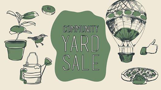 Community Yard Sale at Liberty University Academic Lawn, Virginia