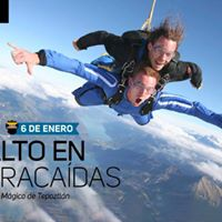 Salto en Paracadas Pueblo mgico de Tepoztln 6 de Enero
