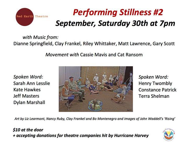 Sustaining Stillness - in words music and dance