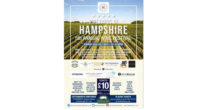 Vineyards of Hampshire 5th Annual Wine Festival