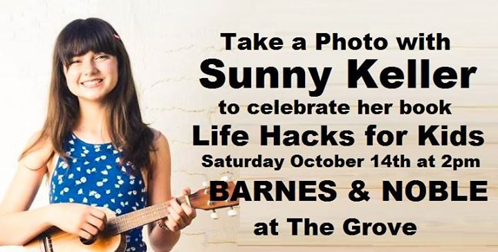 Take A Photo With Sunny Keller To Celebrate Like Hacks For Kids At