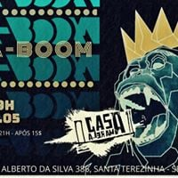 Ba-Boom no Bar Casamarela.