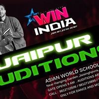 Win India 2018 Dance &amp Music Championship Jaipur Auditions