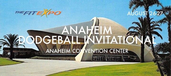 Anaheim Dodgeball Invitational at The FitExpo