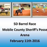5D Monthly Barrel Race