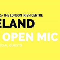 Ireland An Open Mic ( Special Guests)