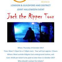 Halloween Jack the Ripper Tour