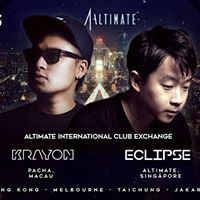 Altimate x Pacha Macau ft. DJs Krayon &amp Eclipse - 24 MAR 2018