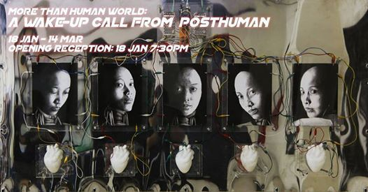 Exhibition Opening A Wake-up Call From Posthuman