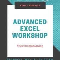 Advanced Excel Workshop with Kewal Kishan