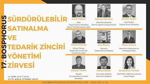 7. Bosphorus Srdrlebilir Satnalma & Tedarik Zinciri Ynetimi
