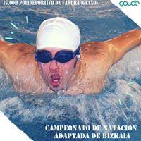 Campeonato De Natacin Adaptada De Bizkaia