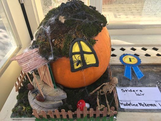 Childrens Decorated Pumpkin Competition