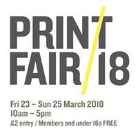 The Hepworth Wakefield Print Fair - Rescheduled