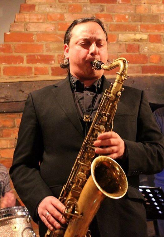 Alex Garnett and The Jazz House Trio at St James Wine Vaults, Bath