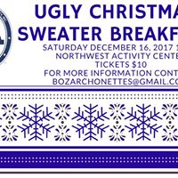 2017 Archonette Ugly Christmas Sweater Breakfast