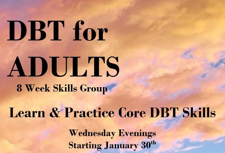 DBT for Adults - Skills Group