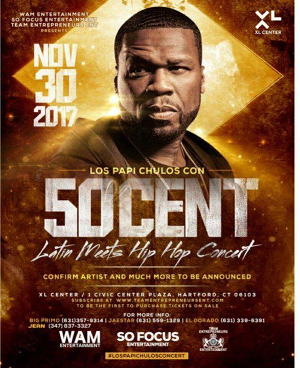 Postponed Latin Meets Hip Hop Concert in Hartford CT